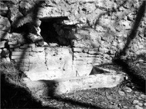 Foto 1- Fuente de la Fábrica de la Luz (Antiguo Molino del Sobrestante)