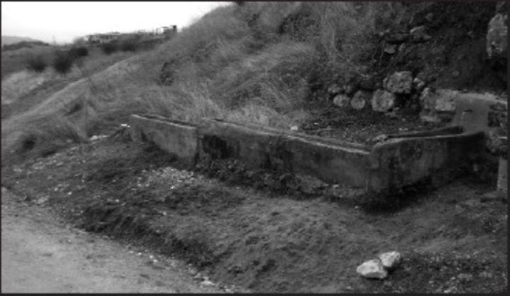 Foto 2. Fuente Cagá- Rehabilitada en 2008 cuando se acondiucionó el camino