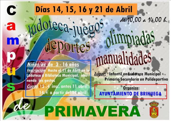 CAMPUS DE PRIMAVERA 2014