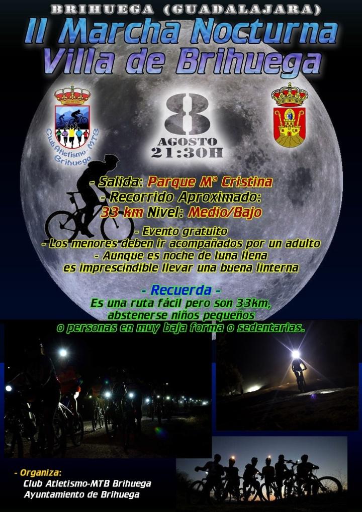 II Marcha nocturna Villa de Brihuega