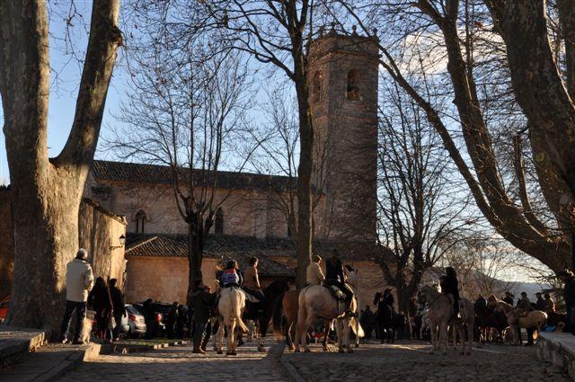 Prado de Santa Maria desde la Puerta de la Guia